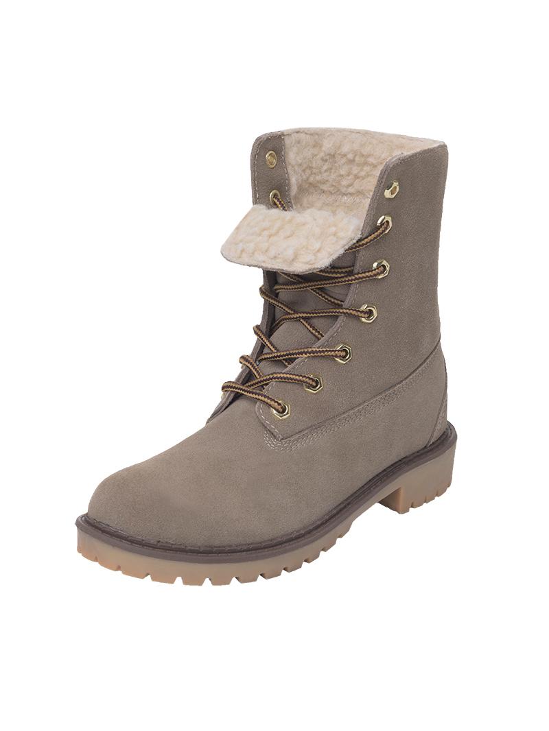 nebulus leather boots merino wool lined ebay