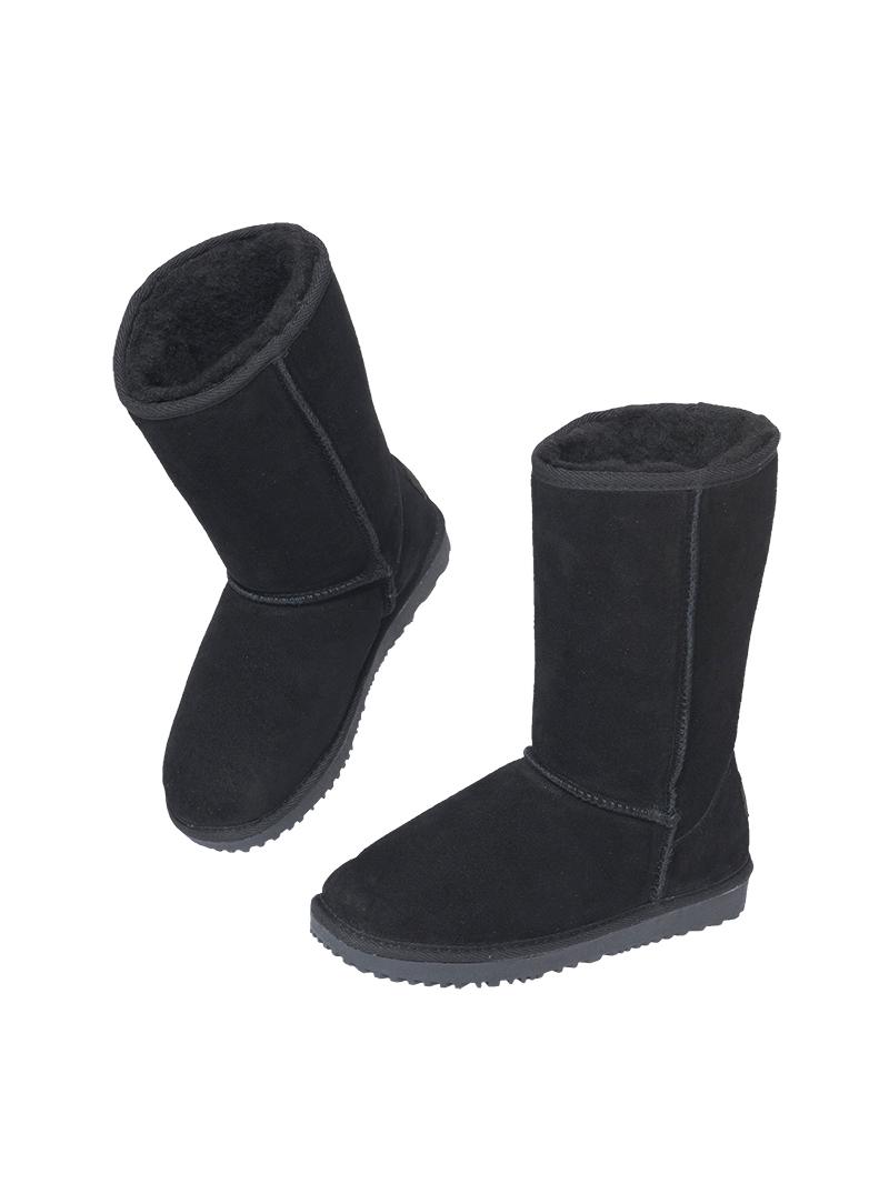 nebulus leder boots queen merinowolle futter damen. Black Bedroom Furniture Sets. Home Design Ideas