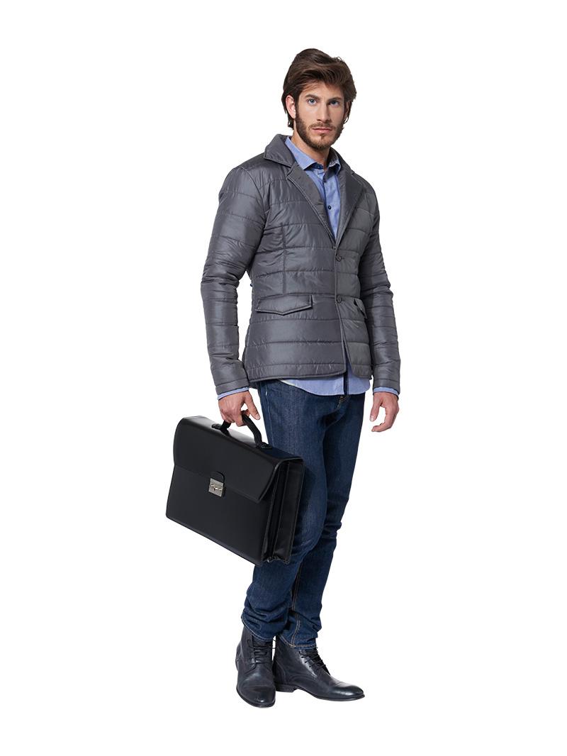 Anzug mit winterjacke