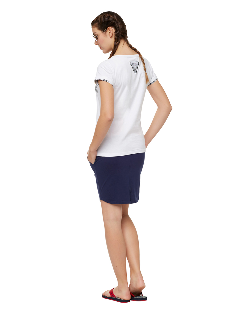Nebulus T-Shirt BLUE PEARL T579 Damen