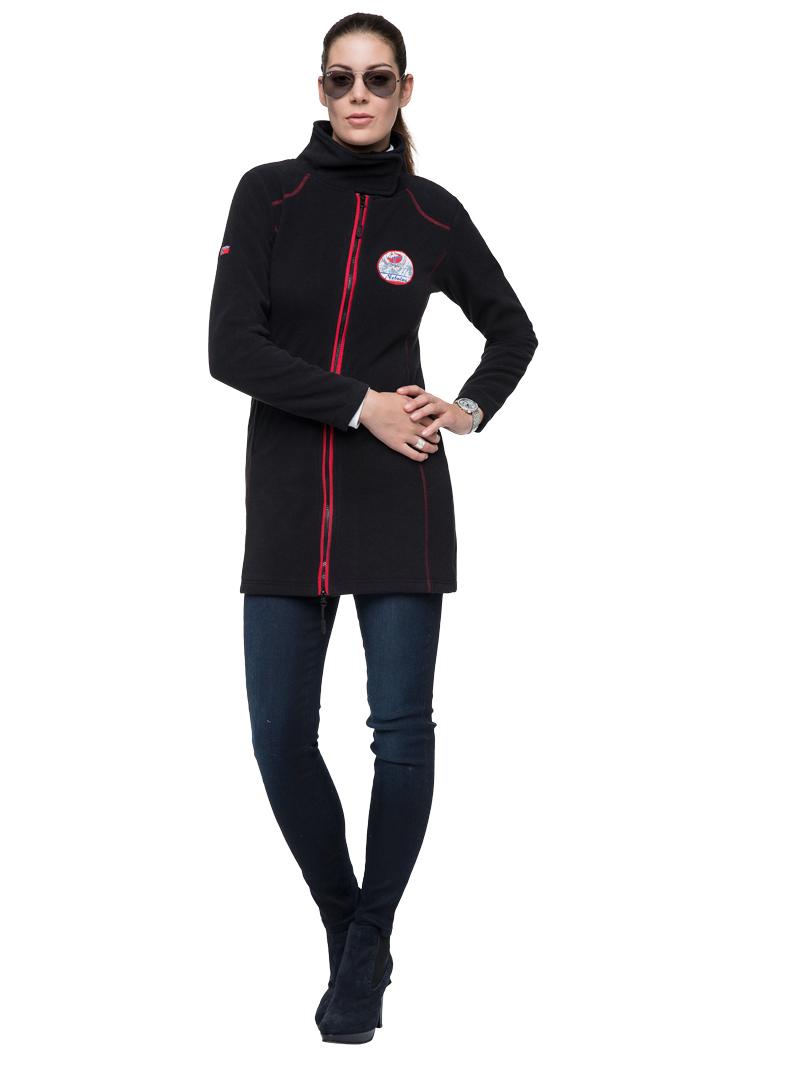 nebulus fleecemantel coventina damen mantel jacke kurz mantel t323 ebay. Black Bedroom Furniture Sets. Home Design Ideas