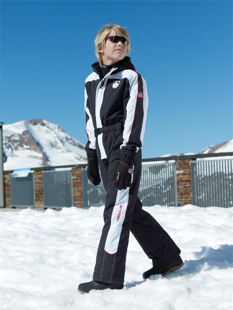 nebulus kinder skioverall snowland gr 128 skianzug overall 5000 mm warm ebay. Black Bedroom Furniture Sets. Home Design Ideas