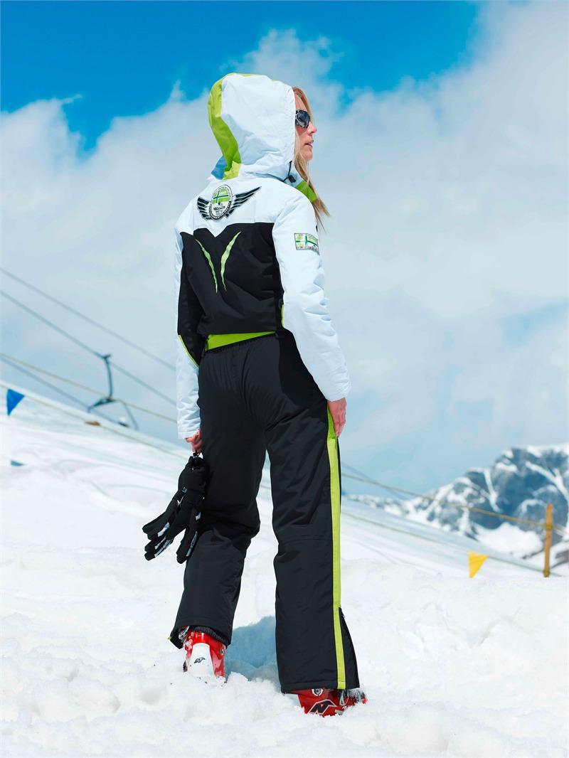 nebulus skioverall arktis skianzug overall damen 10000 mm wei gr n ebay. Black Bedroom Furniture Sets. Home Design Ideas