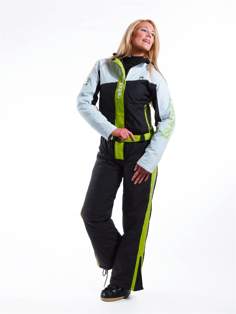 nebulus skioverall arktis skianzug overall damen 10000 mm wei gr n ebay. Black Bedroom Furniture Sets. Home Design Ideas