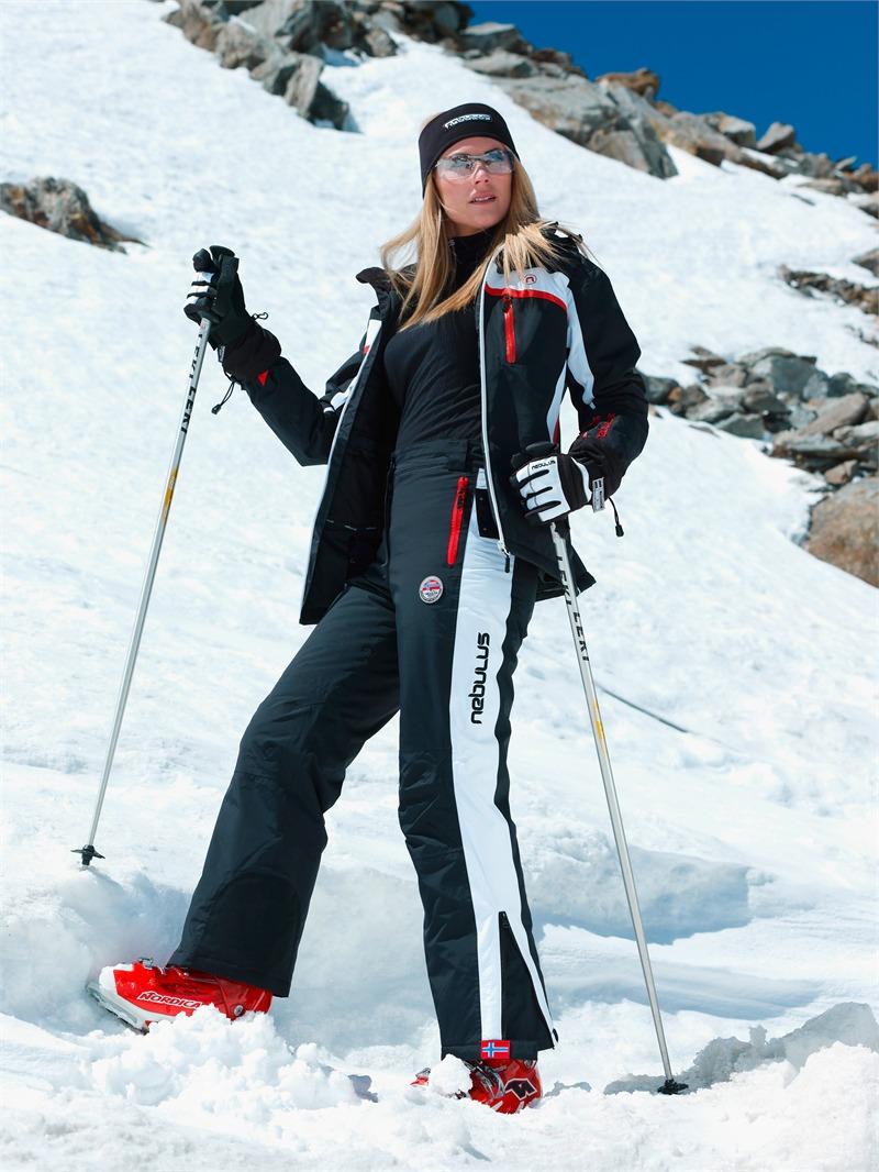 nebulus skihose downhill race damen 10000 mm wassers ule. Black Bedroom Furniture Sets. Home Design Ideas