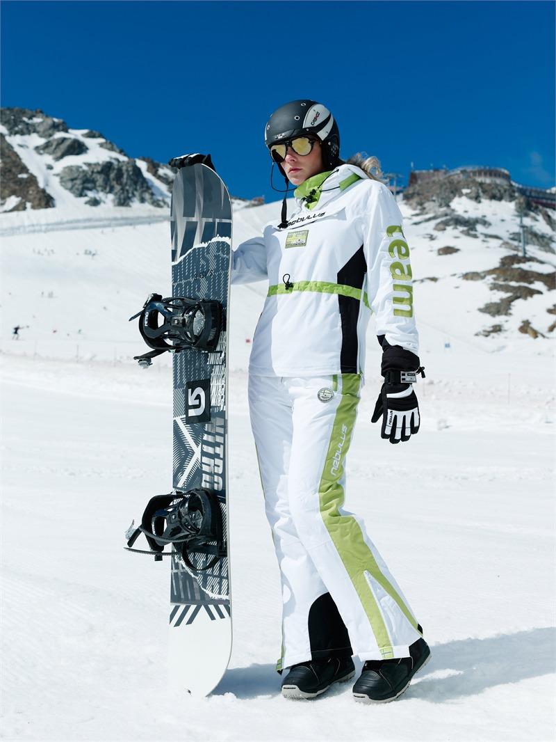 nebulus skijacke race damen wei gr n 10000 mm wassers ule. Black Bedroom Furniture Sets. Home Design Ideas