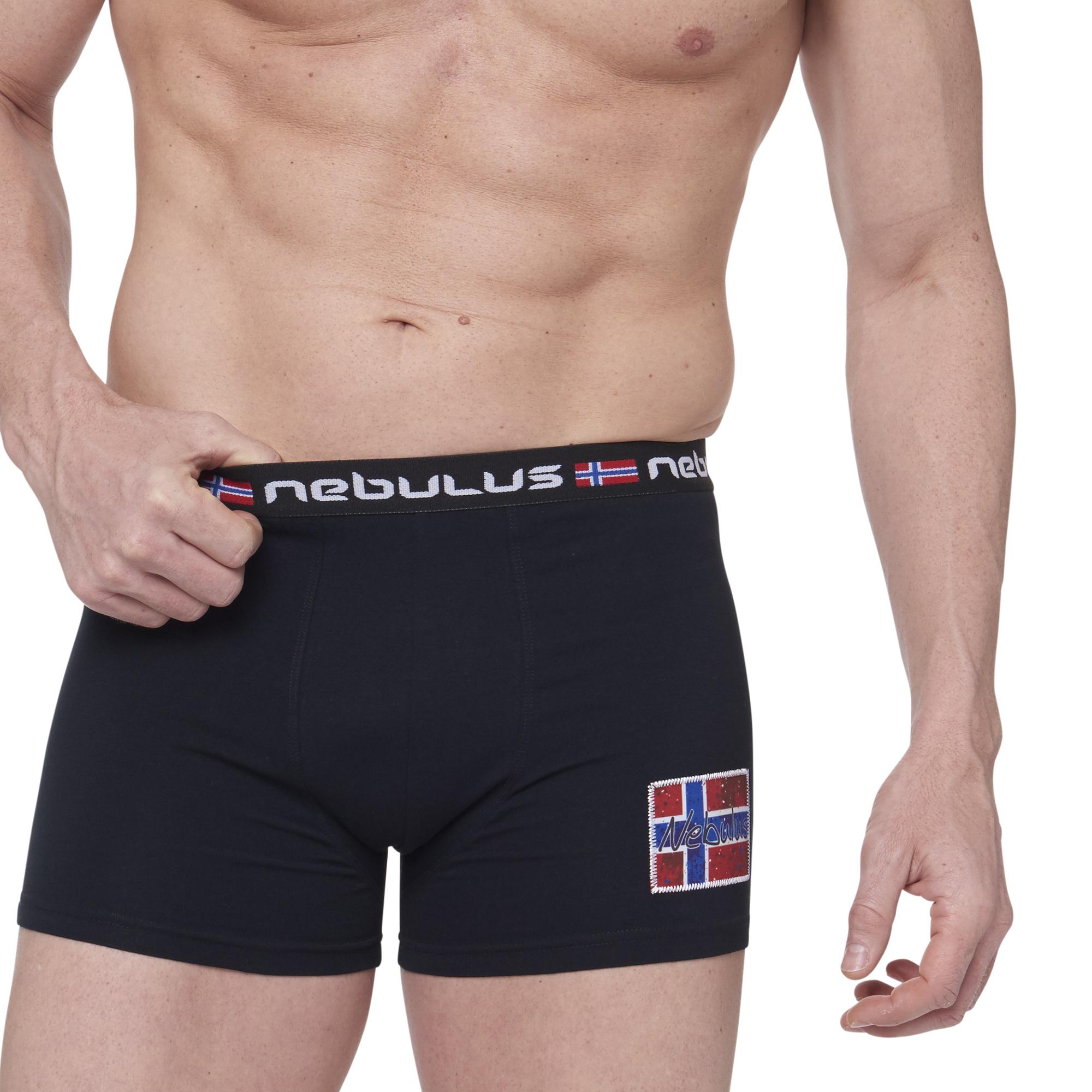 nebulus 3er pack boxershorts diego unterhosen shorts schwarz l q1847 eur 11 10 picclick de. Black Bedroom Furniture Sets. Home Design Ideas