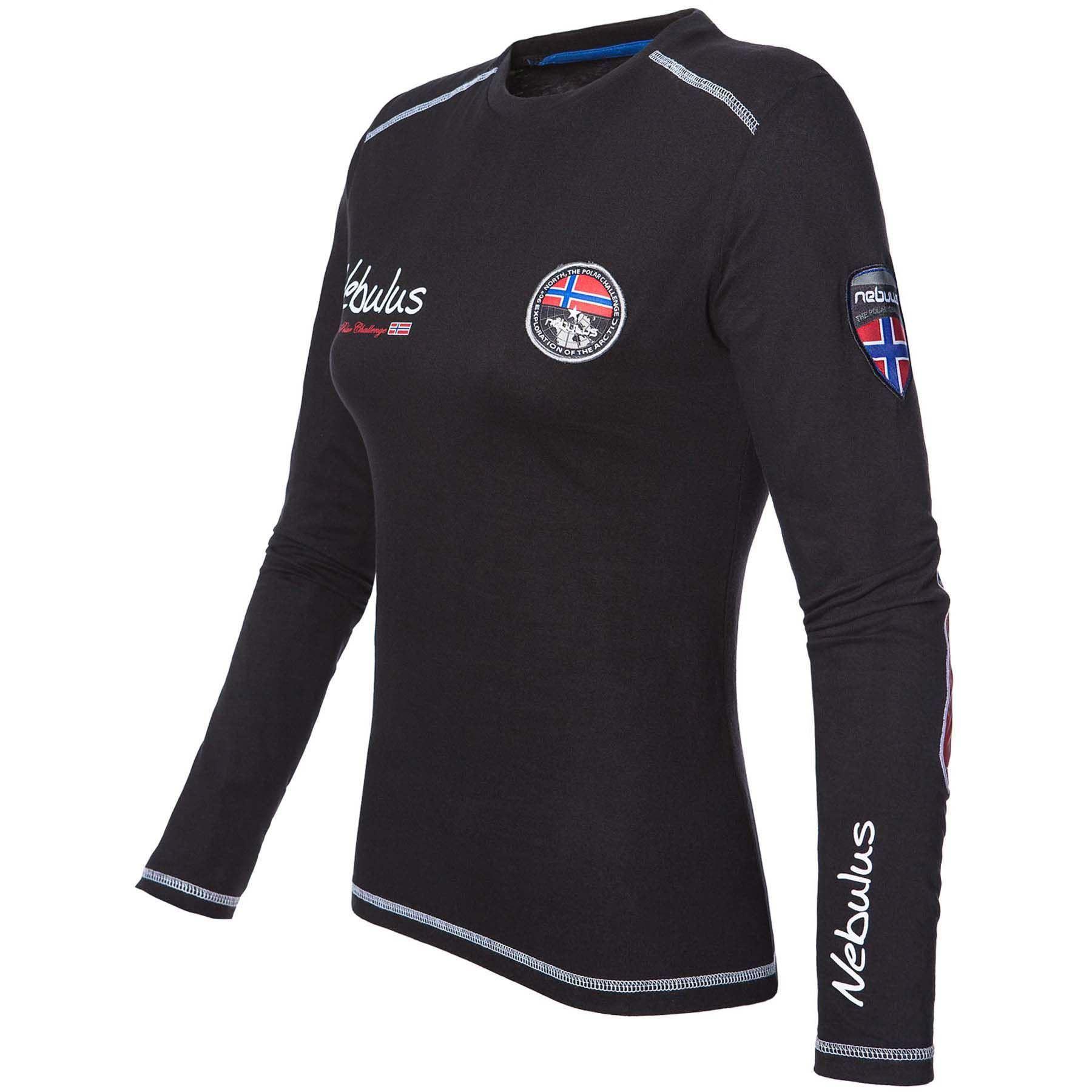 Sweatshirt lang BOOGY Damen S (36) schwarz 1735725aa2