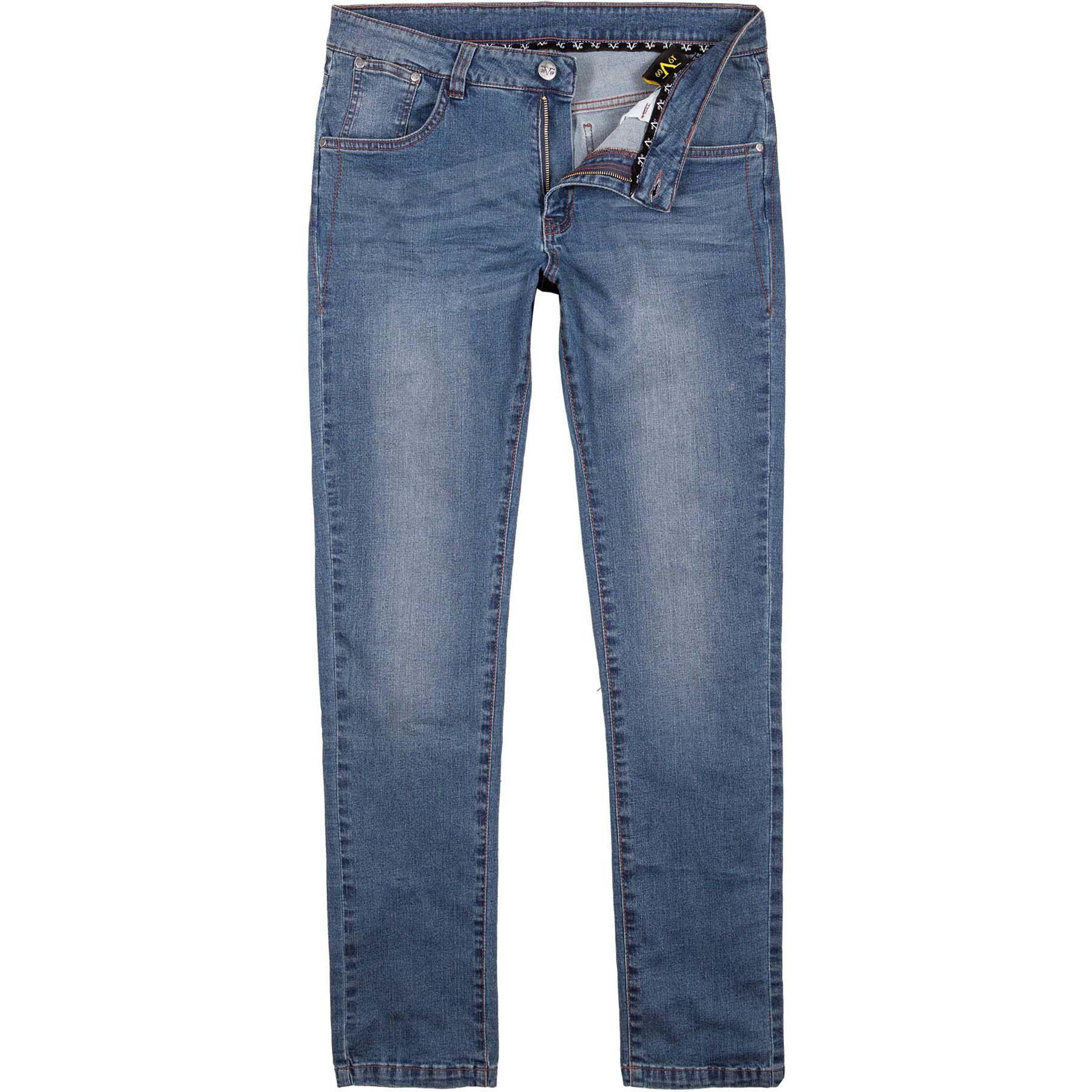e80c9c962b Pantalones de mezclilla de 19V69 hombres W33 L32 azul