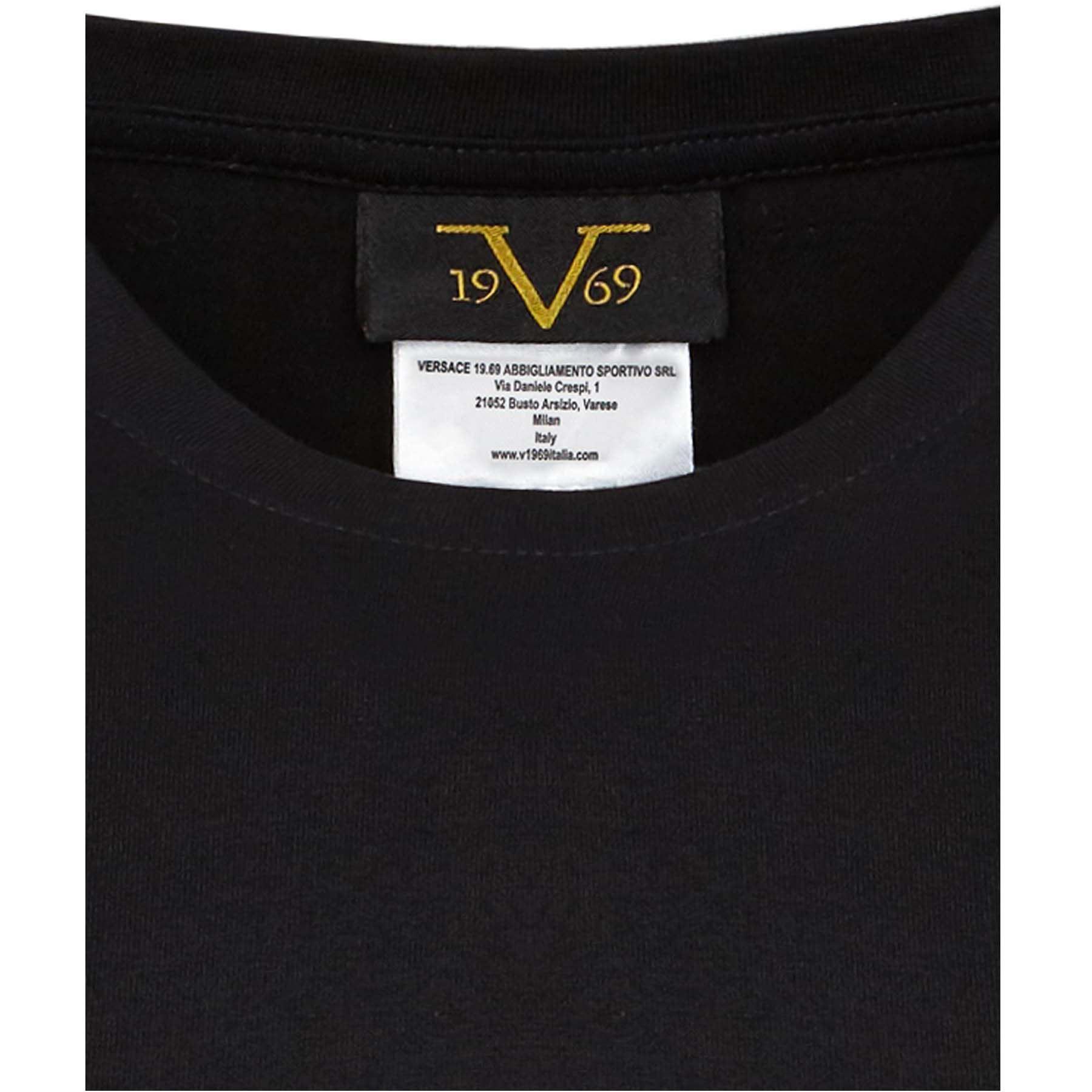 d4e4b7b89306 19V69 Lot de 3 T-shirts homme M Noir