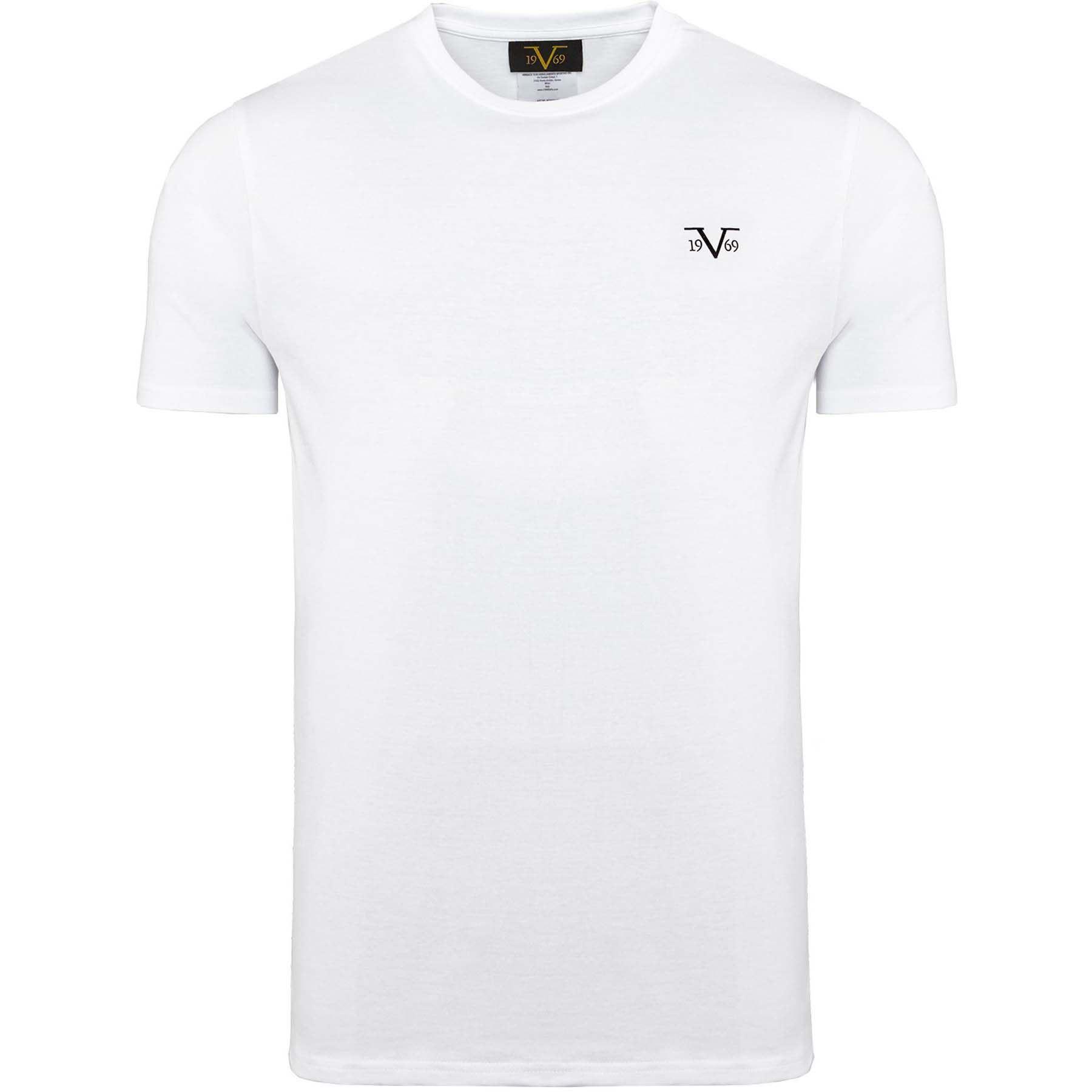 6f52fd38 19V69 T-Shirt Round-Neck 3-Pack men L white