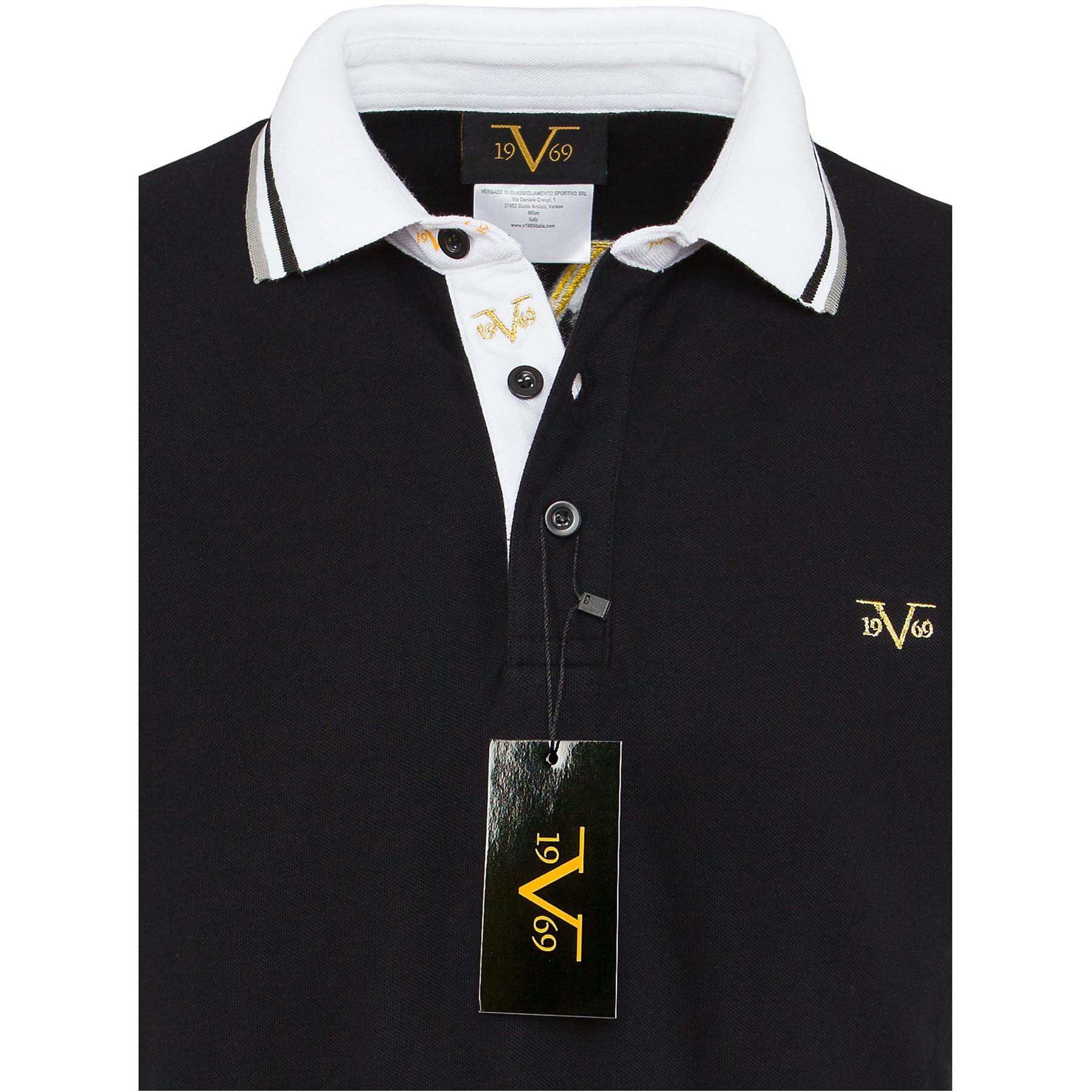 2a854e37 Polo shirt men M black