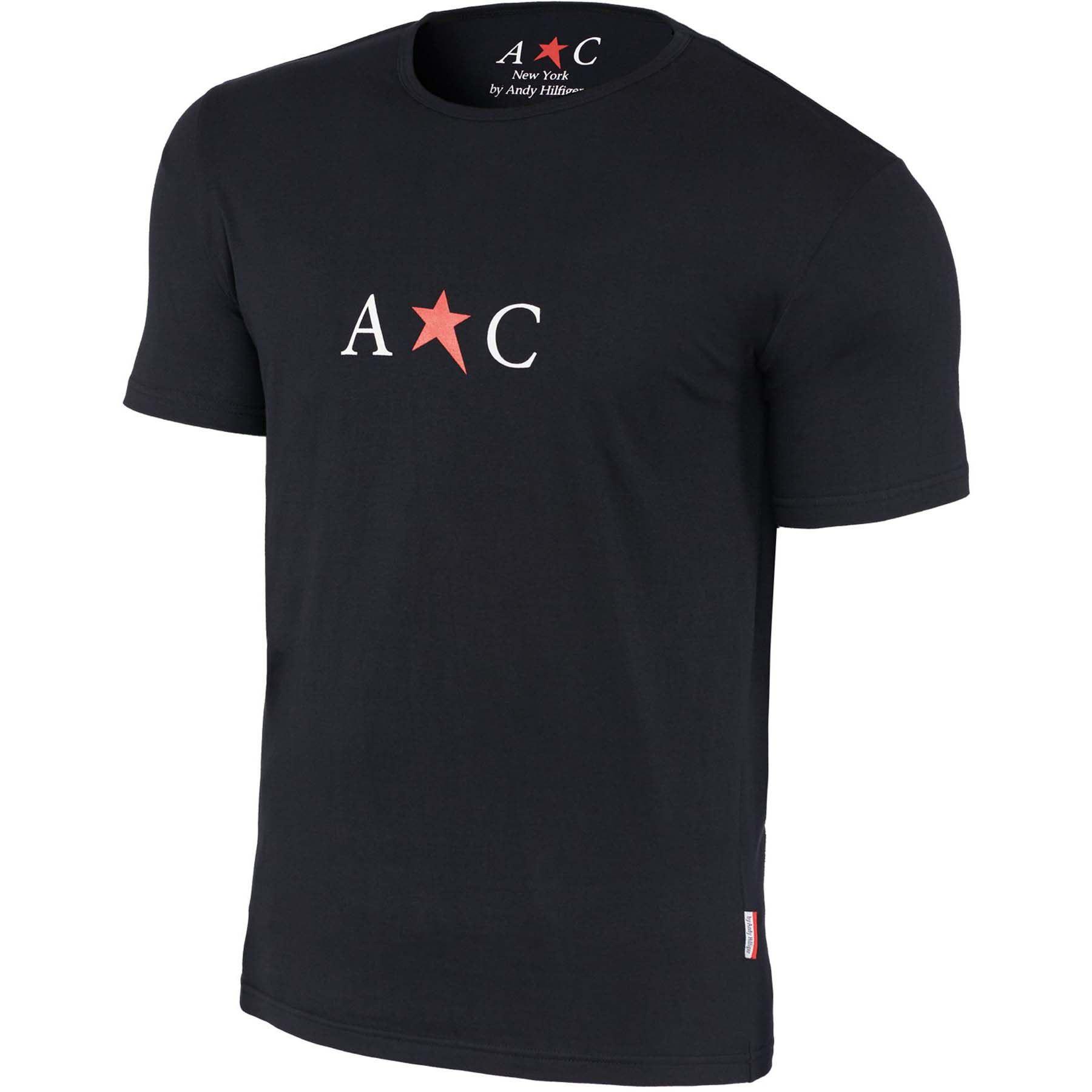 Lot de 3 T-shirts à col rond AC par Andy Hilfiger homme S Noir 963a505fd34