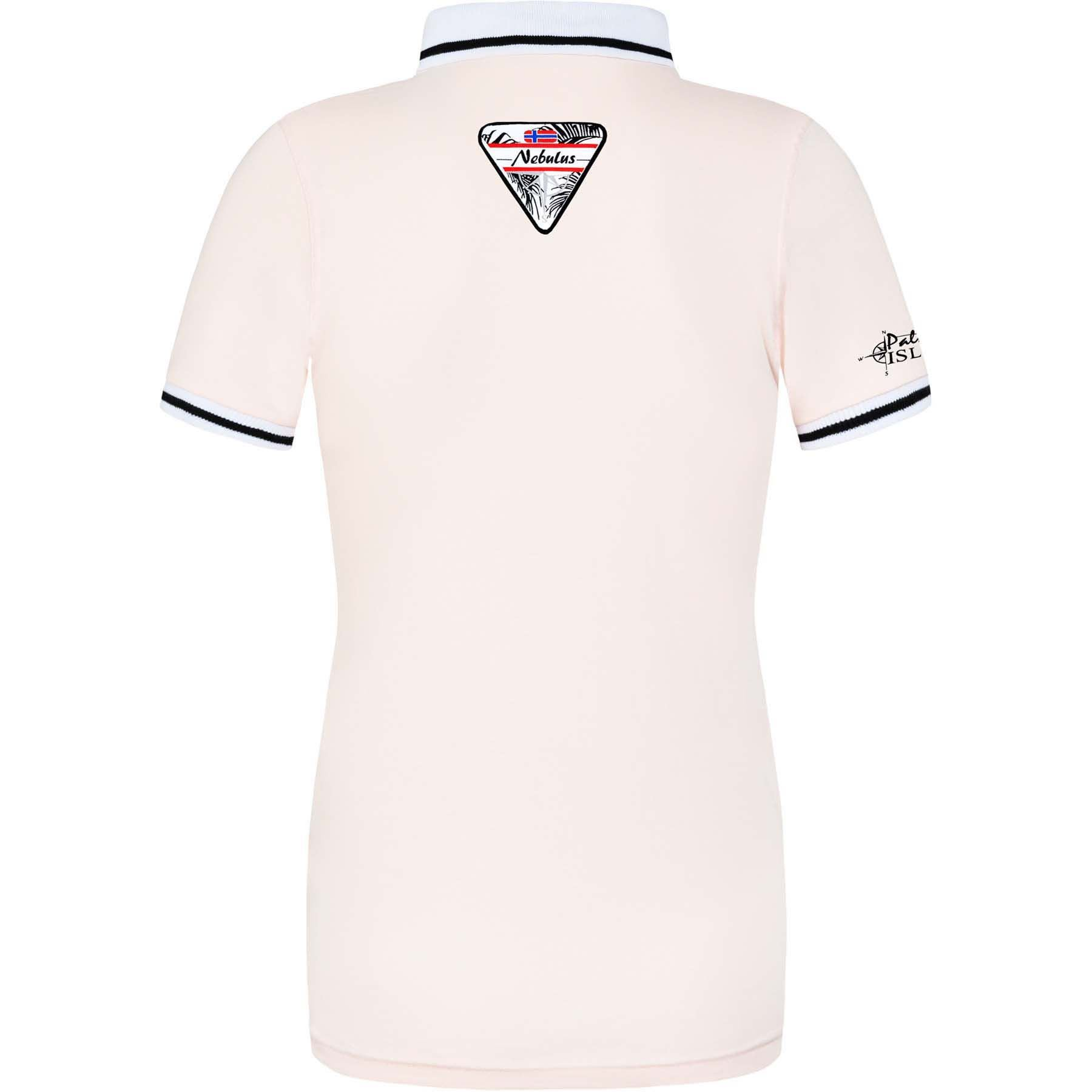 Polo Shirt Palms Women L 40 Pink P1143 02