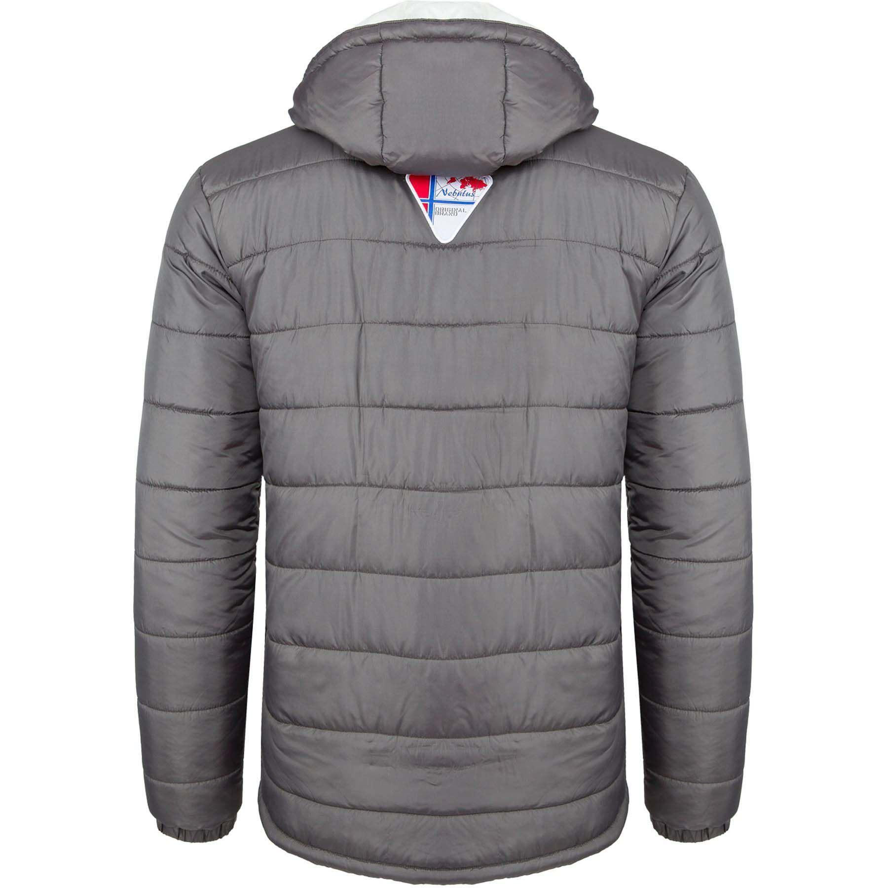 rif078af0 giacca invernale grigia uomo