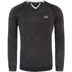 19V69 Sweater V-neck