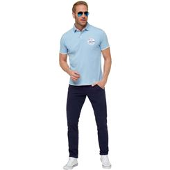 Polo-Shirt OCEAN BLUE