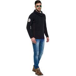 Fleece-Pullover BUTTON