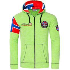Fleece jacket SEARCHER B Stock Men