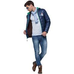 Glossy Jacke mit Kunstfell LHASA