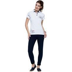 Baumwoll Polo-Shirt DEEP BLUE