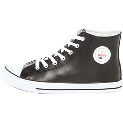 Ledersneaker (hoch) EVO
