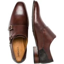 Leather shoes with buckle SMART
