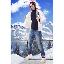 Softshell Jacke mit FELL STYLER FUR (Winter)