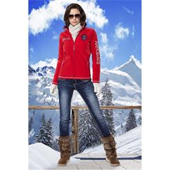 Softshell Jacke mit FELL STYLER FUR (Winter)