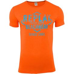 Replay T Shirt, Rundhals