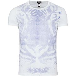 Just Cavalli T-Shirt C-Neck (Jeans-Print)