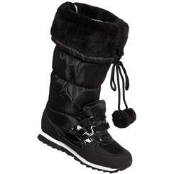 Snow Fun Bommel-Stiefel Damen