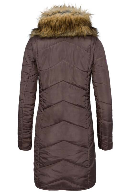 Coat BROOKLYN Women dunkelbraun