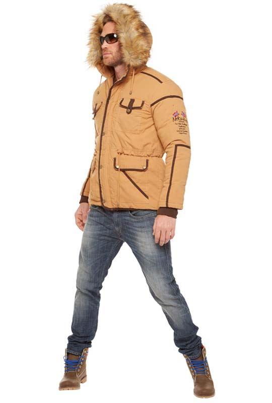 parka BELFORT Men camel