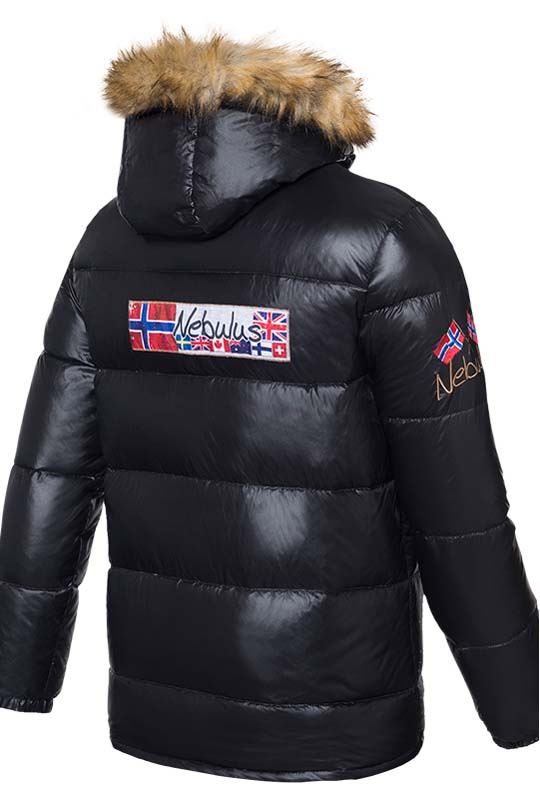 Down jacket GREENLAND Men schwarz
