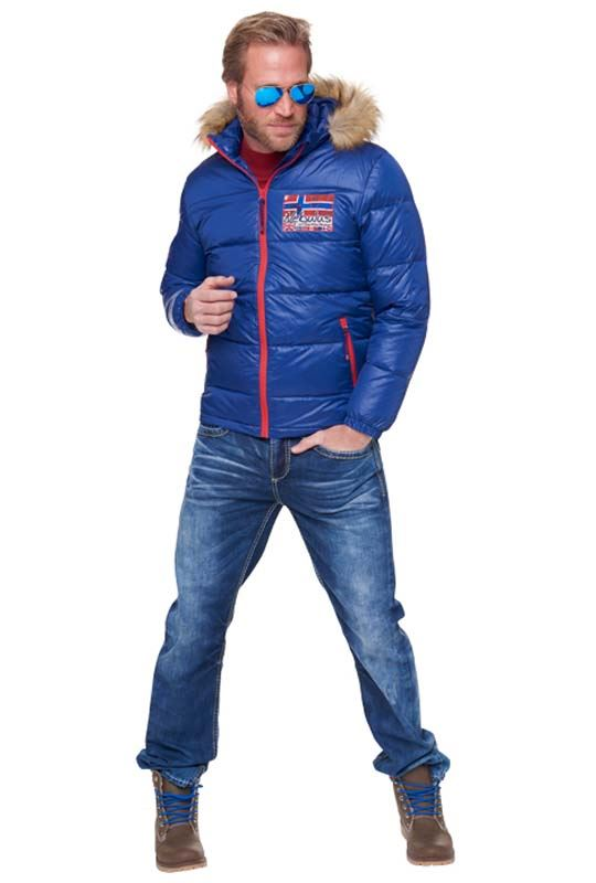 Down jacket GREENLAND Men dunkel kobalt