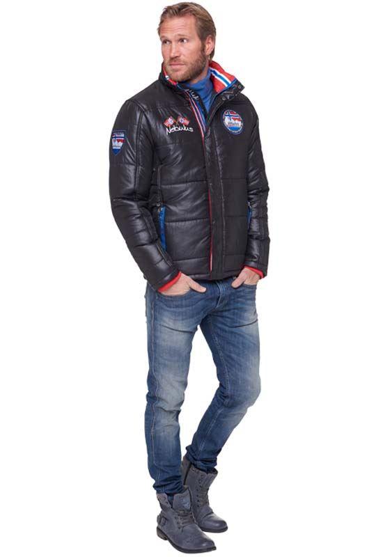 winter jacket NANGA Men schwarz