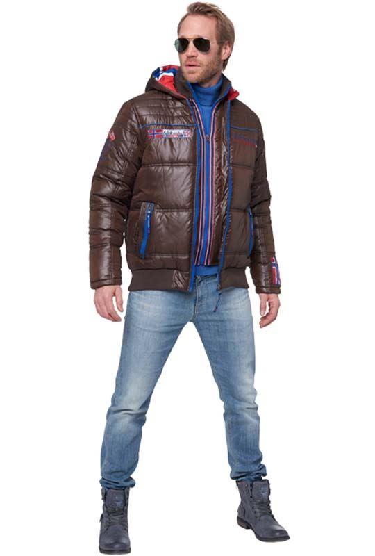 Winterjacket HAWK Men braun