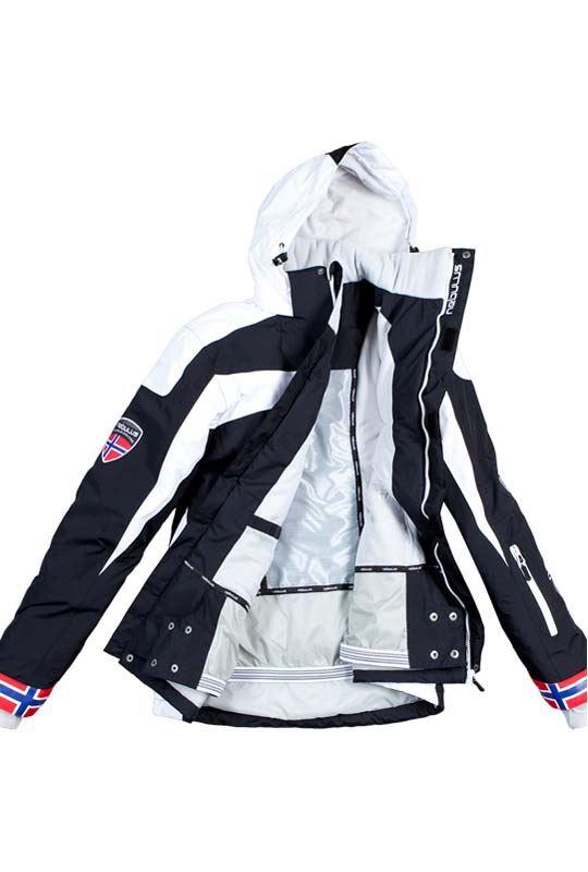 Ski jacket FREESTYLE Men schwarz-weiß