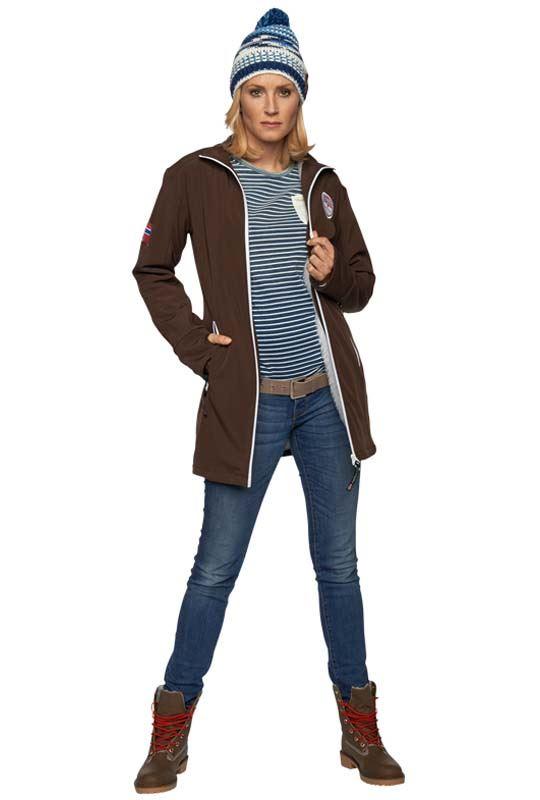 Softshell Jacket COLDER Women braun