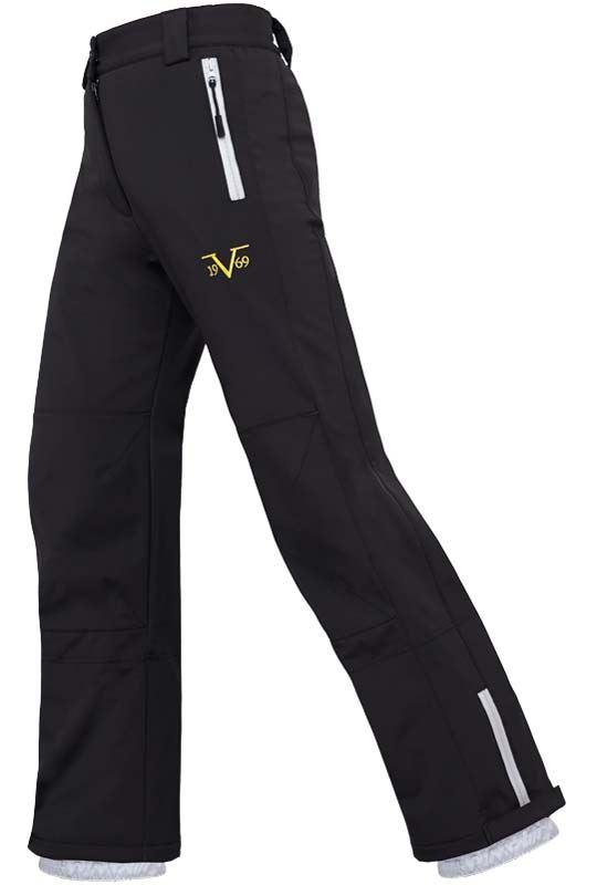 Softshell de 19V69 ski Pantalon Femme Noir S ptqw47Pwx