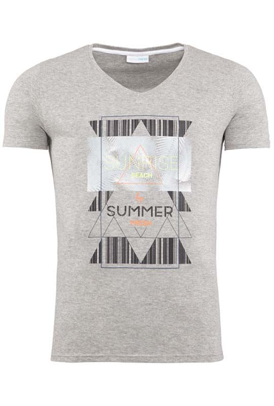 Summerfresh T-Shirt BOARDING grau