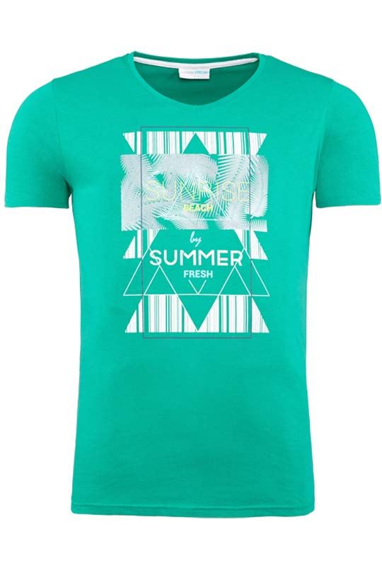 Summerfresh T-Shirt BOARDING grün