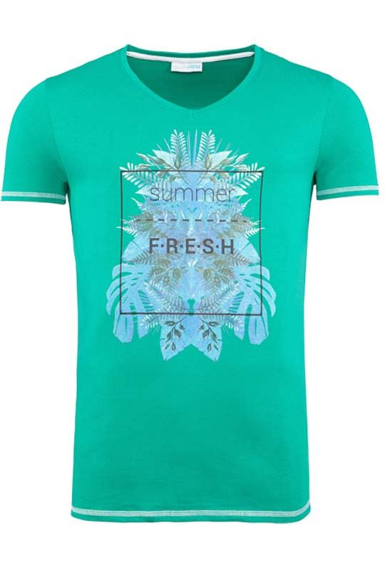 Summerfresh T-Shirt CLIFF grün