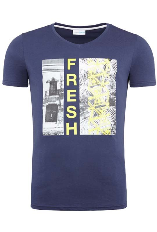 Summerfresh T-Shirt PARADISE navy