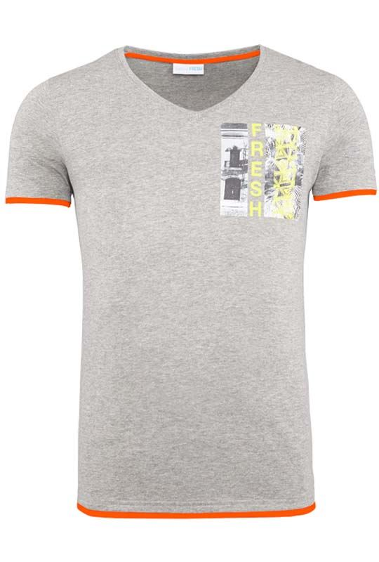 Summerfresh T-Shirt FLORIDA grau