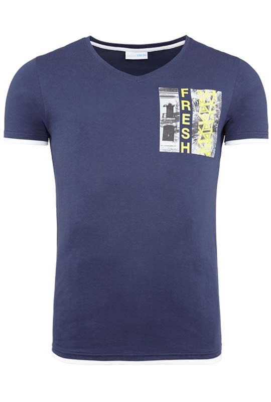 Summerfresh T-Shirt FLORIDA navy