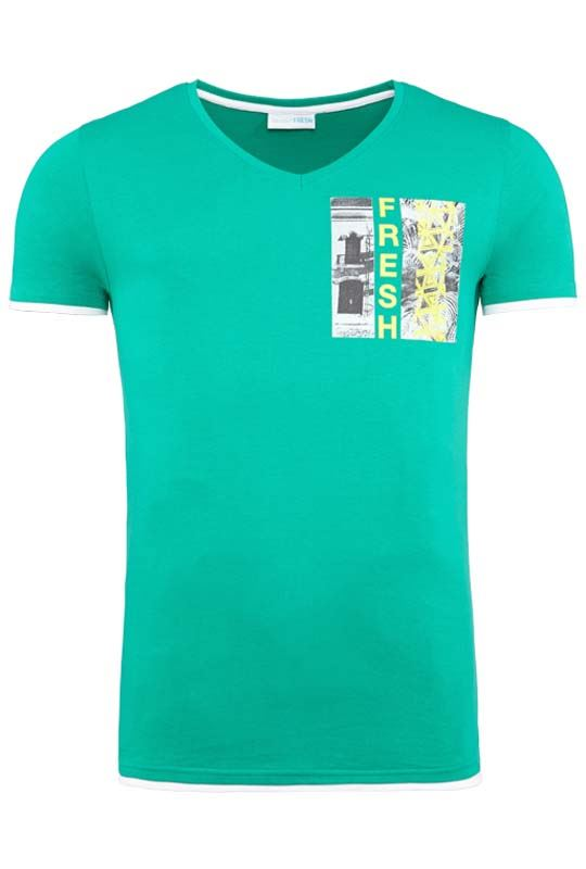 Summerfresh T-Shirt FLORIDA grün
