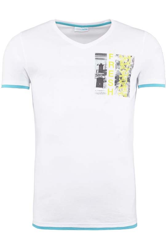 Summerfresh T-Shirt FLORIDA weis