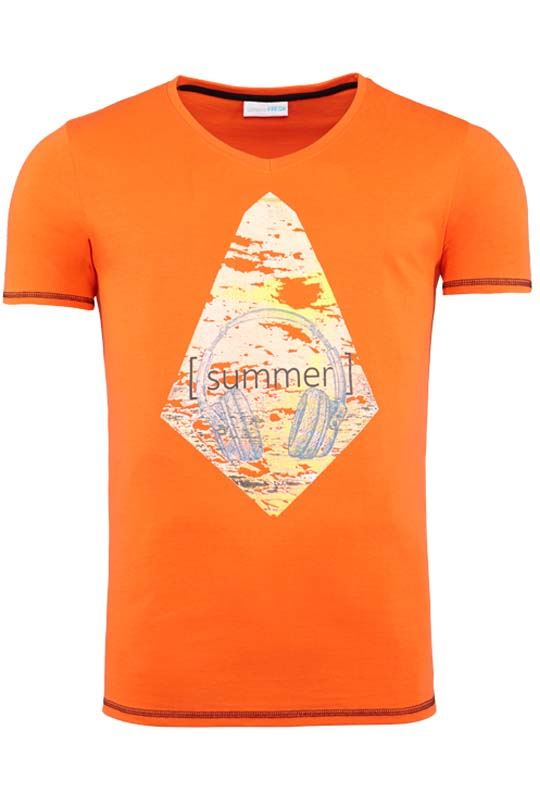 Summerfresh T-Shirt FLORIS orange